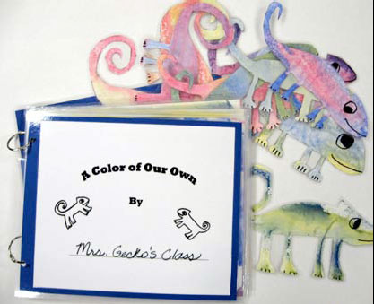 this lesson is based on the illustrations in the book a color of his own by leo lionni students each produce a cut out chameleon in lionnis style and - A Color Of His Own Book